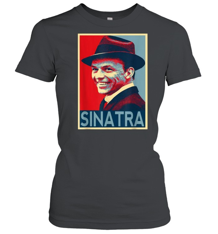 Vintage Frank Sinatra Love Country Music T- Classic Women's T-shirt