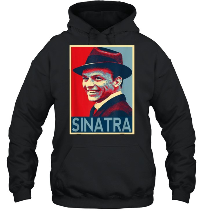 Vintage Frank Sinatra Love Country Music T- Unisex Hoodie