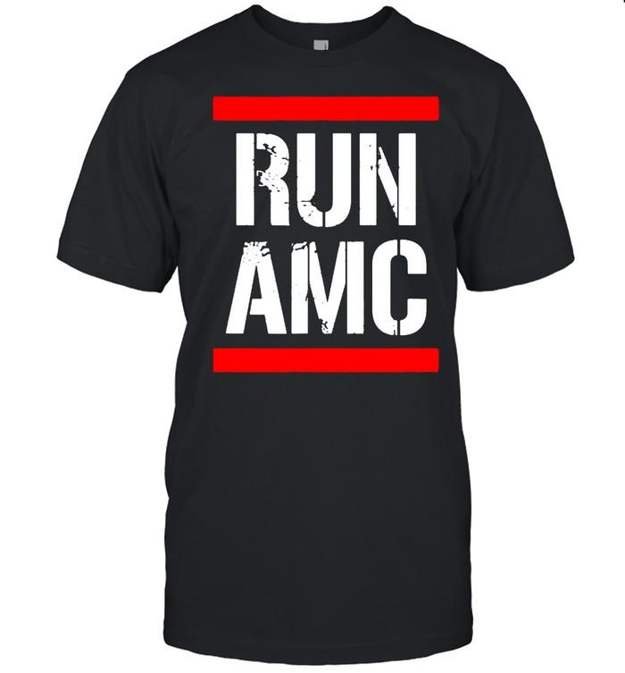 Run AMC Stock Meme Crypto  Classic Men's T-shirt