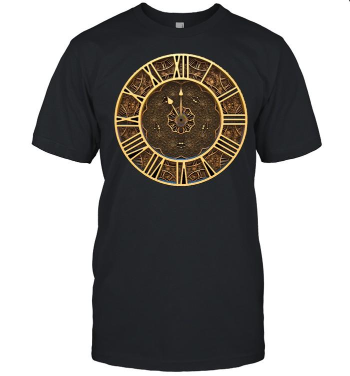 Steampunk Retro Vintage Rusty Art Deco Clock shirt Classic Men's T-shirt