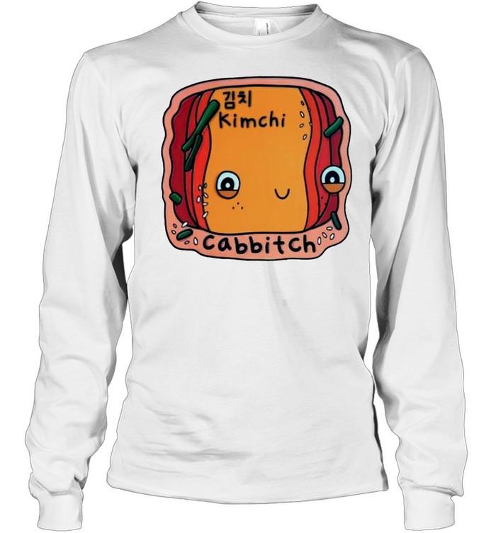 Kimchi cabbitch shirt Long Sleeved T-shirt