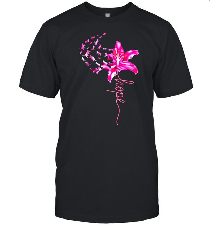 Cat Hope Flower  Classic Men's T-shirt