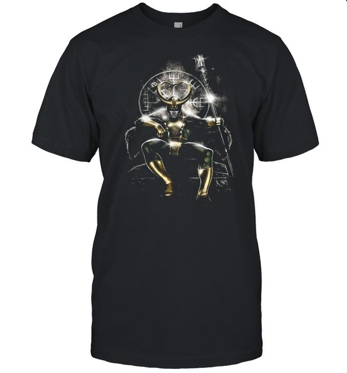 Marvel Loki Throne shirt Classic Men's T-shirt
