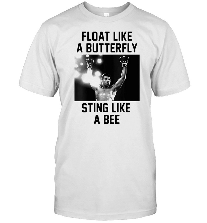 Muhammad Ali Float Float Like A Butterfly Sting Like A Bee T-shirt Classic Men's T-shirt