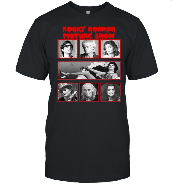 The Rocky Horror Picture Show Group Shot Yearbook Box Up T-shirt Classic Men's T-shirt
