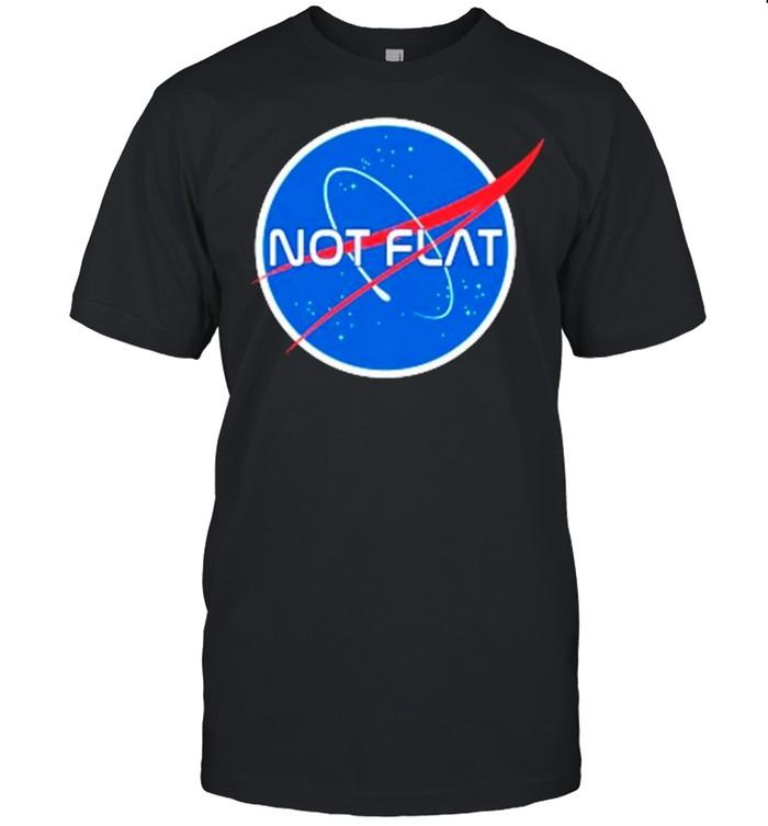 Not flat earth Nasa shirt Classic Men's T-shirt