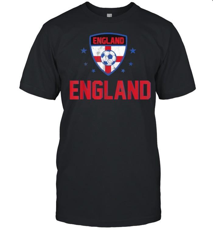 England Soccer Jersey National Flag Football  Classic Men's T-shirt