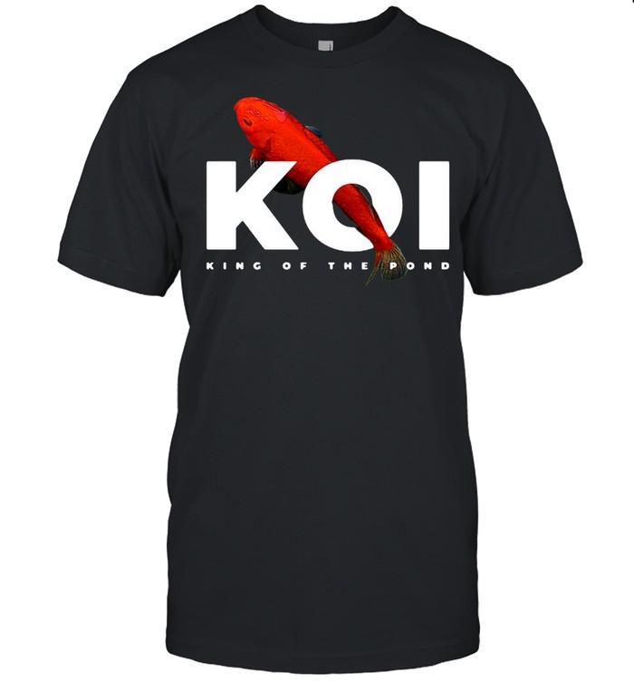 KoiKarpfenTeichBesitzer Fischwärter Langarmshirt T-shirt Classic Men's T-shirt
