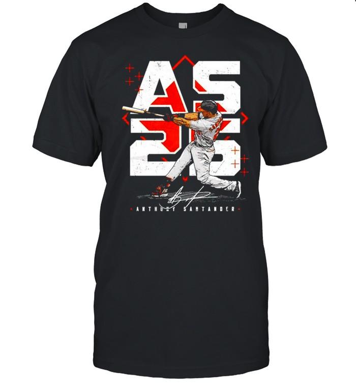 Baltimore Orioles Anthony Santander hit the ball shirt Classic Men's T-shirt