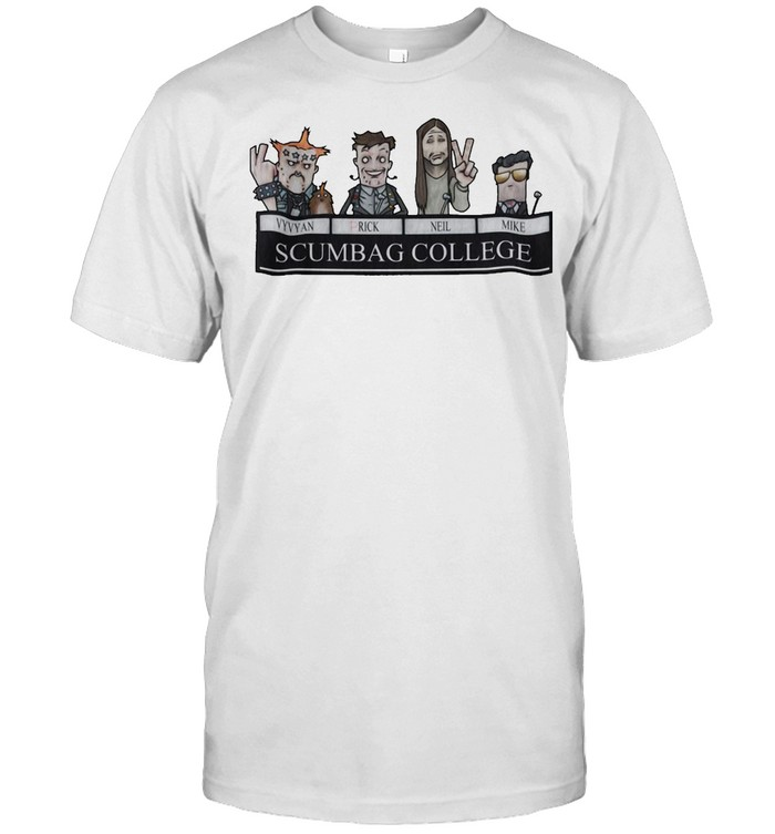 Young Ones Scumbag College By HappyToast T-shirt Classic Men's T-shirt