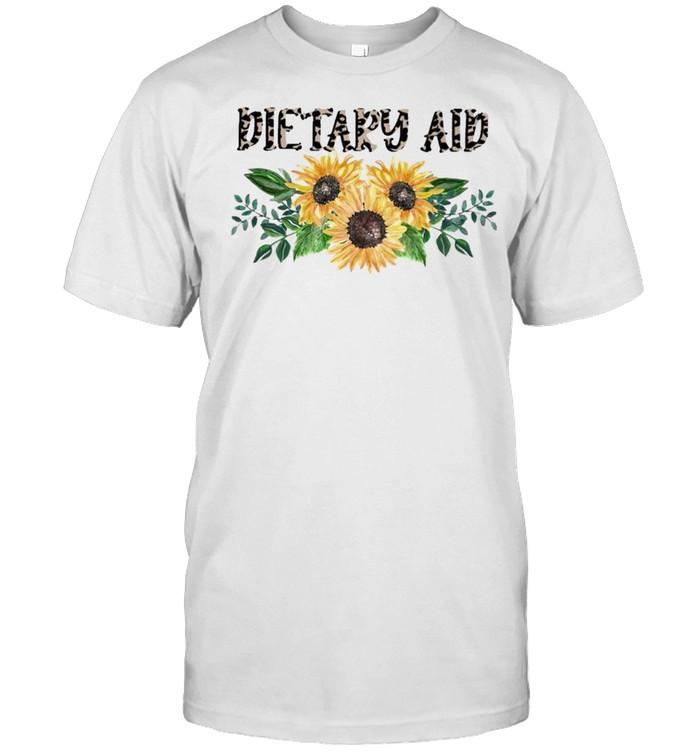 Dietary Aid Leopard Sunflower 2021 shirt Classic Men's T-shirt