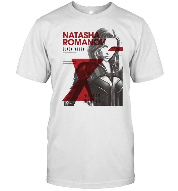 Natasha Romanov Black Widow shirt Classic Men's T-shirt