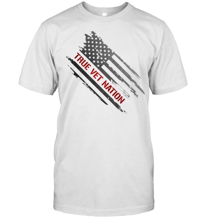 True Vet Nation Flag  Classic Men's T-shirt