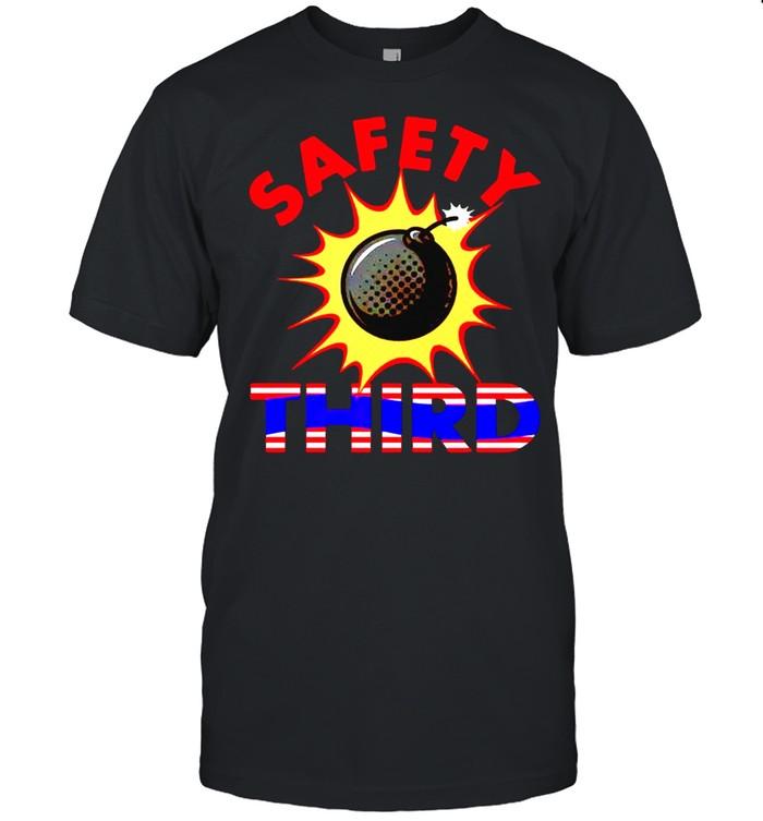 Safety third bomb shirt Classic Men's T-shirt