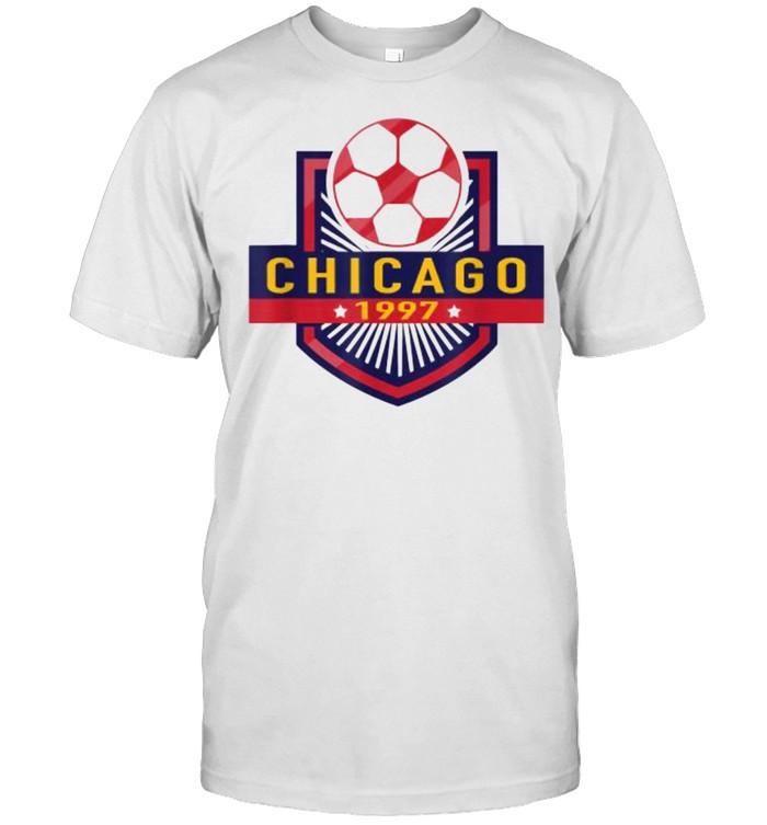 Chicago Soccer Team 1997  Classic Men's T-shirt