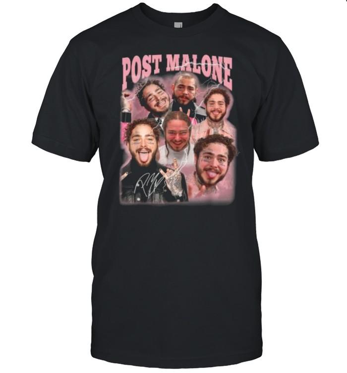 Vintage Posts Malones Art Music Legend Limited Design T- Classic Men's T-shirt