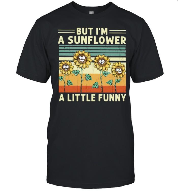 But im a sunflower a little funny vintage shirt Classic Men's T-shirt
