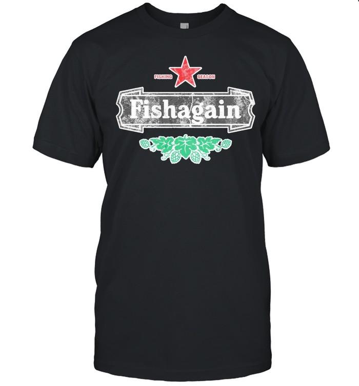 Fishing season fishagain shirt Classic Men's T-shirt