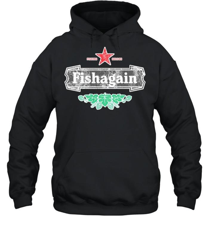 Fishing season fishagain shirt Unisex Hoodie