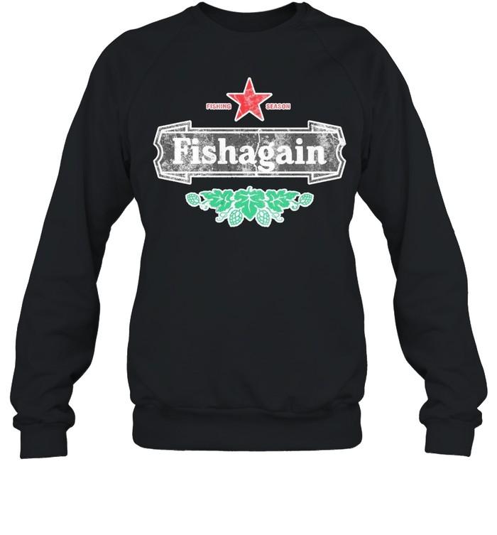 Fishing season fishagain shirt Unisex Sweatshirt