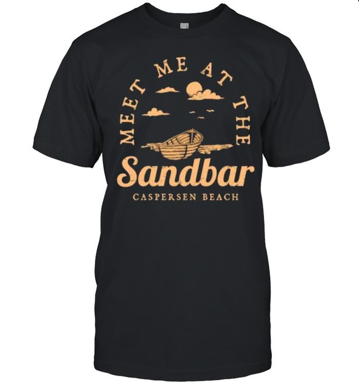Meet Me at the Sandbar Caspersen Beach Vacation Florida T-shirt Classic Men's T-shirt
