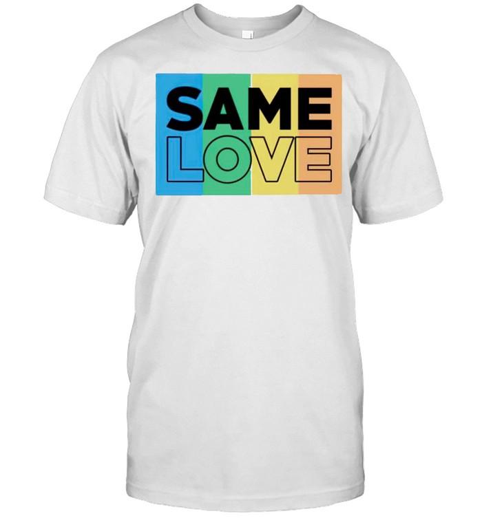Same Love LGBT shirt Classic Men's T-shirt