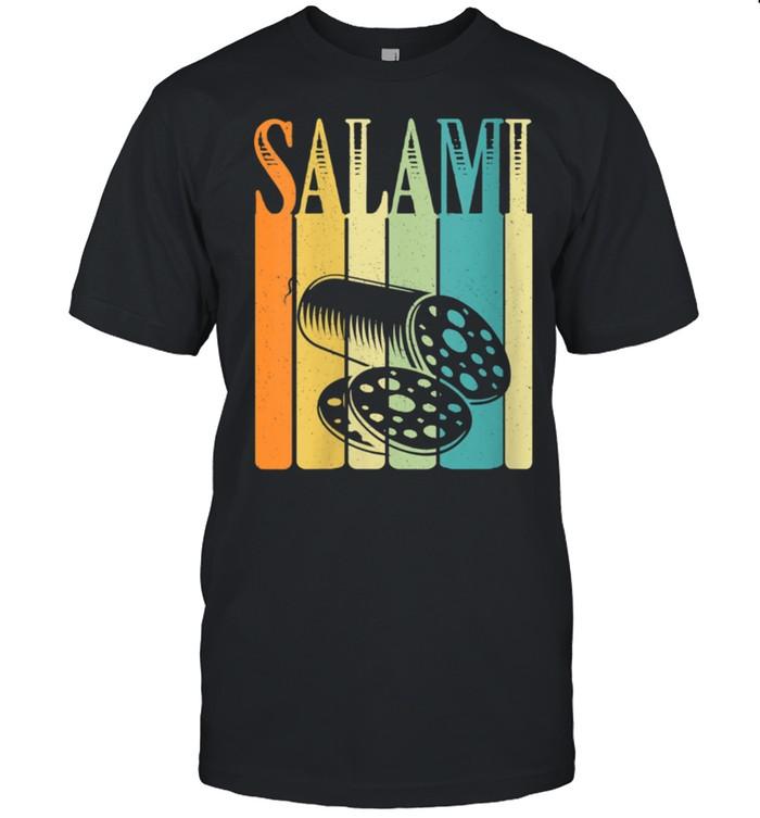 Vintage Retro Style Salami Silhouette shirt Classic Men's T-shirt