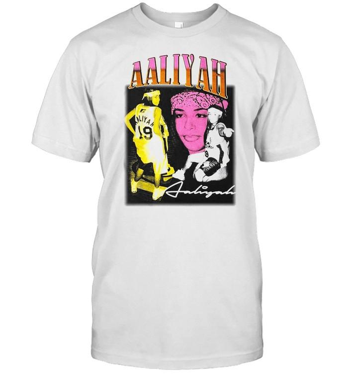 Vintage Aaliyah Basketball  Classic Men's T-shirt
