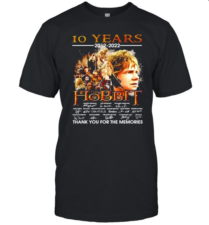 Men's 10 years 2012-2022 The Hobbit signatures shirt Classic Men's T-shirt