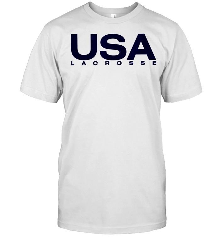 Big USA Lacrosse shirt Classic Men's T-shirt