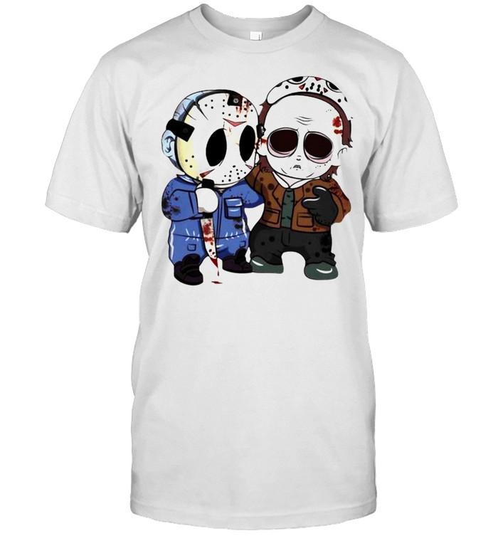 Jason Voorhees and Michael Myers friends shirt Classic Men's T-shirt