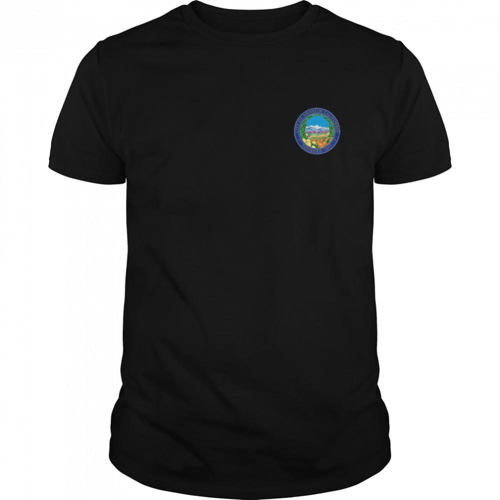 ANAHEIM FLAG SEAL CALIFORNIA ORANGE COUNTY shirt Classic Men's T-shirt