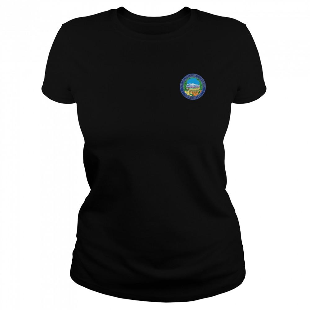 ANAHEIM FLAG SEAL CALIFORNIA ORANGE COUNTY shirt Classic Women's T-shirt