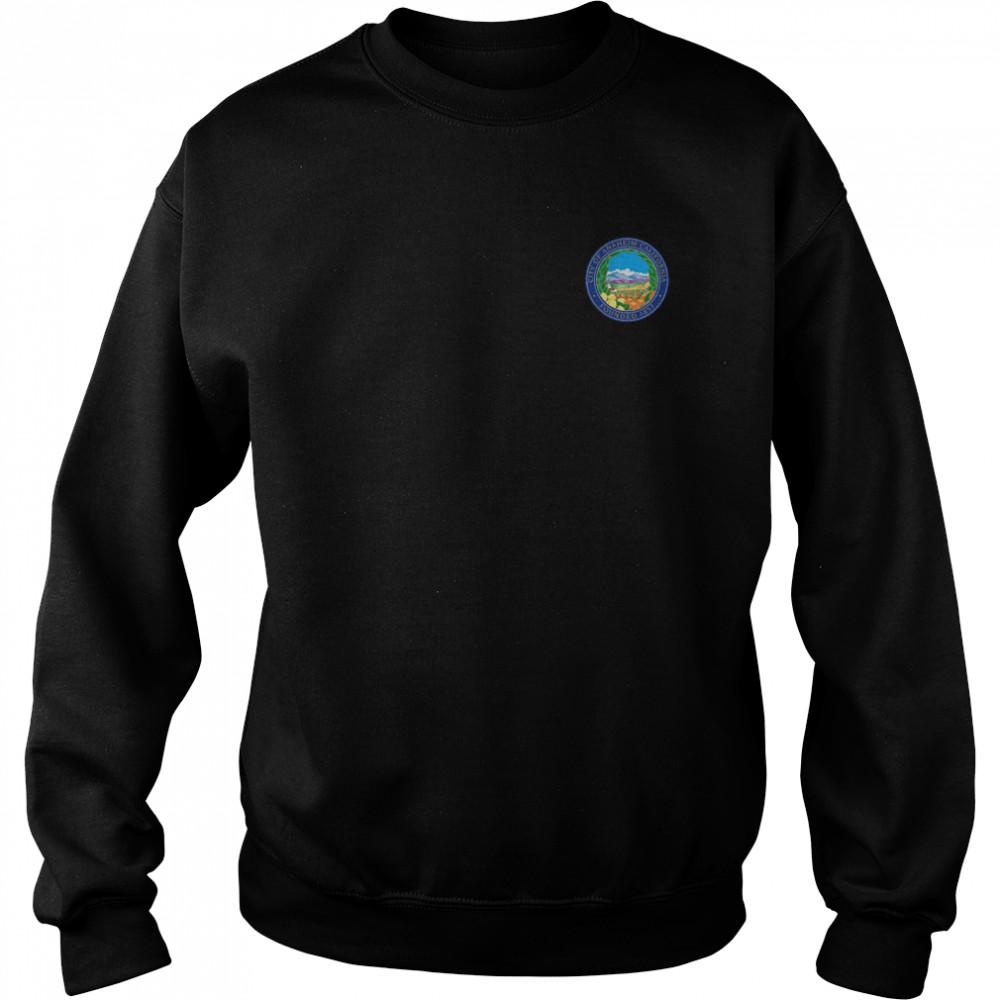 ANAHEIM FLAG SEAL CALIFORNIA ORANGE COUNTY shirt Unisex Sweatshirt